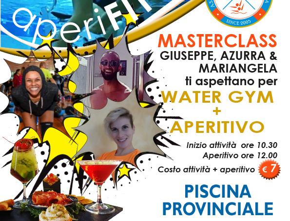 Water Gym con Aperitivo